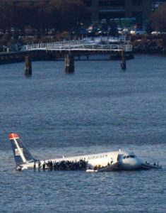Приводнение самолета
